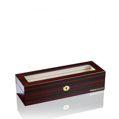 Кутия за часовници - Watch Box Auckland 6 - Brown, Black