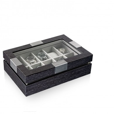 Кутия за часовници - Watch Box with Window - Wood for 10 Watches - Watch Case