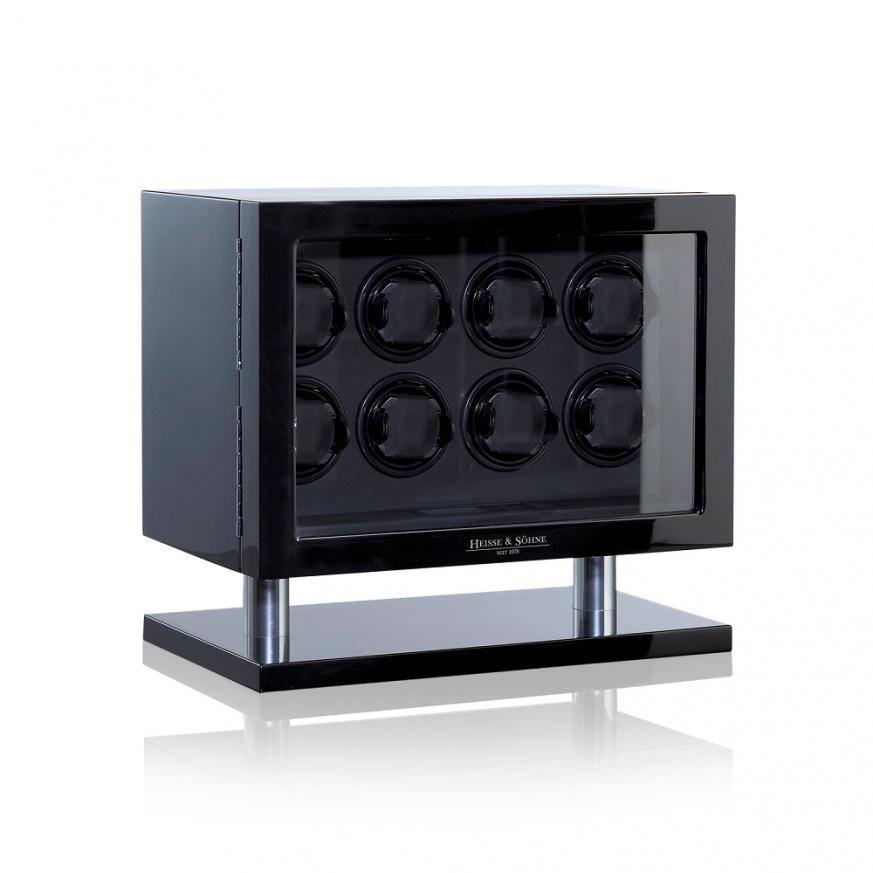Кутия за навиване на часовници- Watch Winder Collector 8 - Black