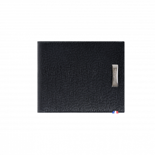 Щипка за пари LINE D CONTRASTE / BILLFOLD 6 CREDIT CARDS BLACK