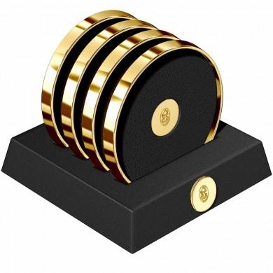 Комплект подложки за чаши 23 KT Gold