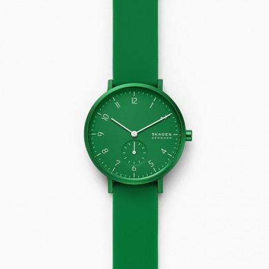 Aaren Kulor Green Silicone 36mm