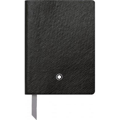 Тефтер  Notebook #145 Black Fine Stationery
