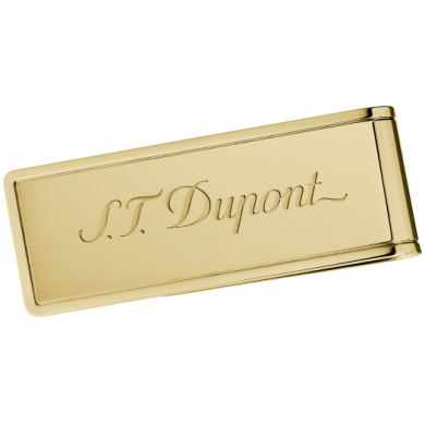 Щипка за банкноти S.T.Dupont /STAINLESS STEL & GOLD PVD