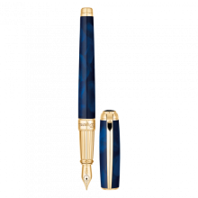 Писалка LINE D FOUNTAIN PEN / ATELIER BLUE