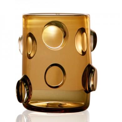Стъкло-мурано - Колекция BOIS DE VERRE by Marcello Panza - Ваза