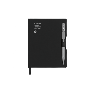 Сет химикалка и тефтер 849 Grey & A6 Black