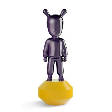 Порцеланова фигура – THE GUEST Little – Purple on Yellow Figurine