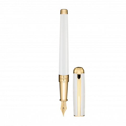 Писалка LINE D FOUNTAIN PEN / WHITEK&GOLD