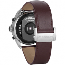 Summit 2 Bicolor Steel and Leather 42 mm