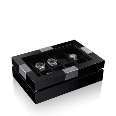 Кутия за часовници - Watch Box Executive 10 - Black/Black