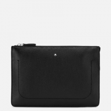 Клъч - Soft Grain Clutch with 2 Compartments