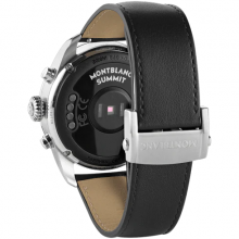 Summit 2 Stainless Steel and Leather 42 mm