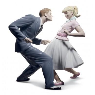 Порцеланова фигура – Let's Swing Couple Figurine – Limited Edition