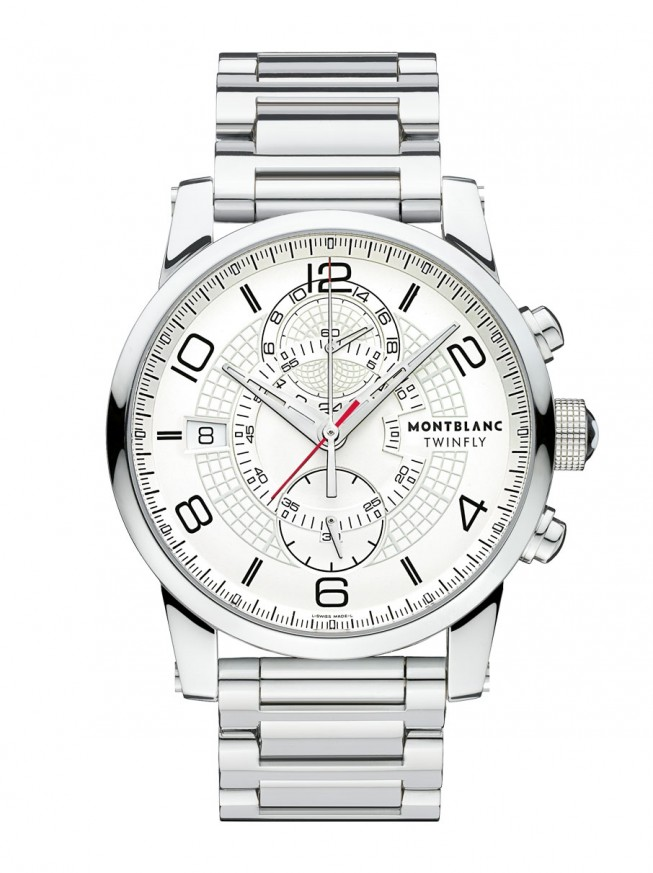 Montblanc TimeWalker TwinFly Chronograph 43 mm