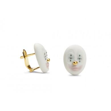 Обеци - Kind Clown Earrings - Golden Lustre