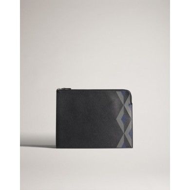 Папка - Alfred Dunhill - Cadogan Marquetry Zip Folio