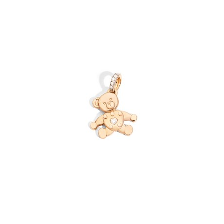 Висулка -  Pendant without Chain Orsetto - Rose Gold Pendants