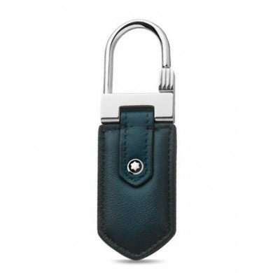 Ключодържател - Meisterstück Selection Sfumato Key Ring, Blue, Steel, Leather