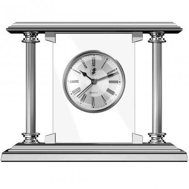 Настолен часовник Shiny Chrome