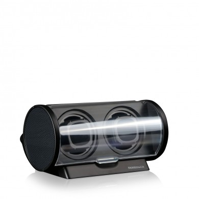 Кутия за навиване на часовници Watch Winder Tubix - Carbon