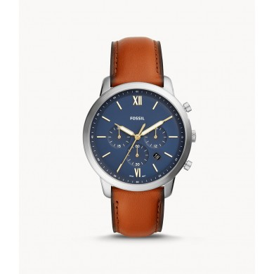 Neutra Chronograph Brown Leather