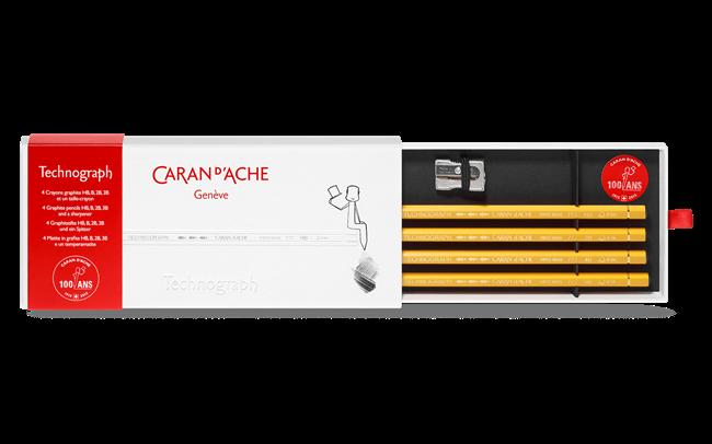 Сет острилка и моливи TECHNOGRAPH 100 Years Limited Edition