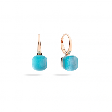 Обеци - Earrings - Nudo- Gelè