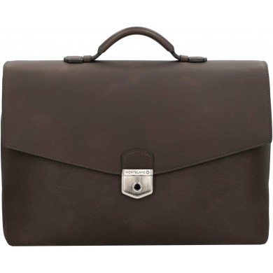 Чанта - Meisterstück Sfumato Single Gusset Briefcase Brown