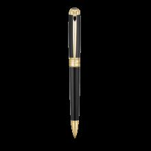 Химикалка LINE D BALL POINT/ BLACK&GOLD
