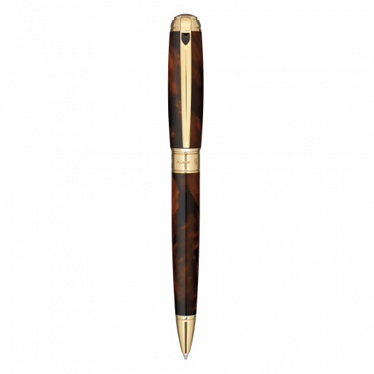Химикалка LINE D BALL POINT/ ATELIER BROWN