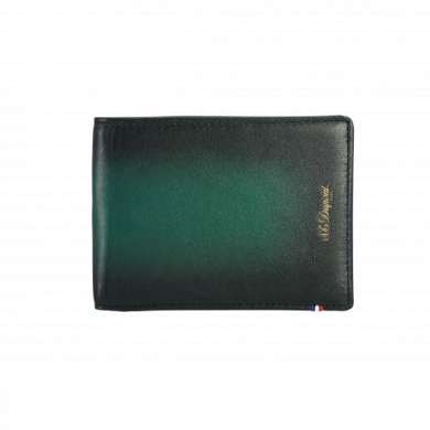 Портфейл ATELIER/WALLET 6 CREDIT CARDS  EMERALD GREEN