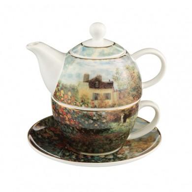 Чайник и чаша за чай