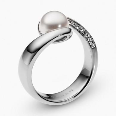 Дамски пръстен Agnethe Pearl Silver-Tone