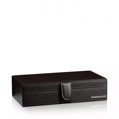 Кутия за часовници - Watch Box Seattle 10 - Dark Brown