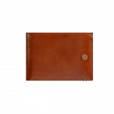 Портфейл LINE D/BILLFOLD 6 CREDIT CARDS BROWN & BLACK