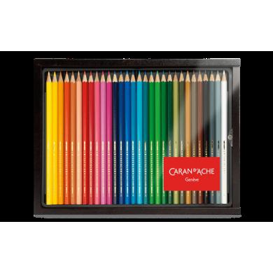 Сет моливи 30 SWISSCOLOR wooden case