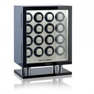 Кутия за навиване на часовници- Watch Winder Collector 16 Prime - Black