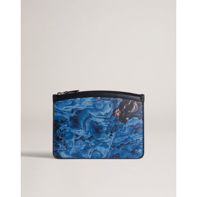 Папка - Alfred Dunhill - Duke Marble Small Zip Folio