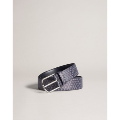 Колан - Alfred Dunhill - Engine Turn Luggage Canvas Belt