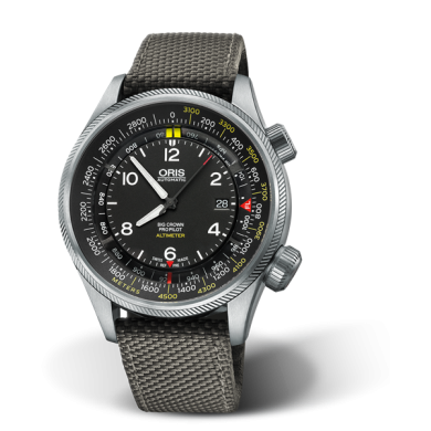 ORIS BIG CROWN PROPILOT ALTIMETER WITH METER SCALE
