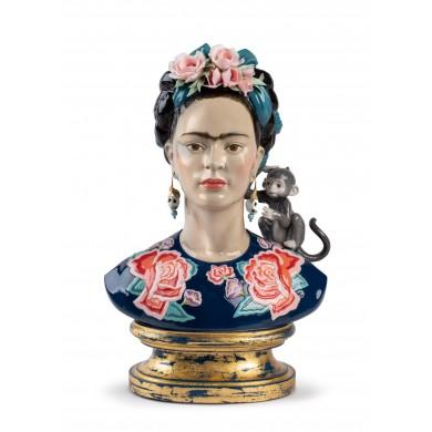 Порцеланова фигура - Frida Kahlo Figurine. Blue. Limited Edition