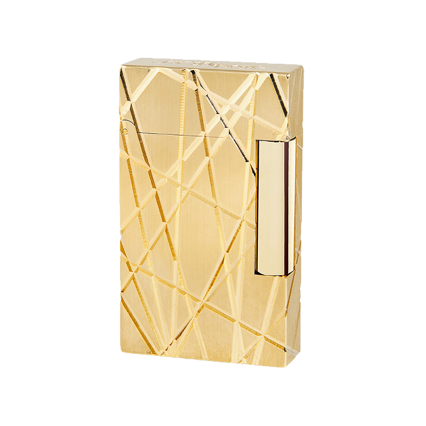 Запалка LIGNE 2 LIGHTER / YELLOW GOLD FIRE LINE