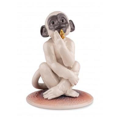 Порцеланова фигура –  Little Monkey Figurine