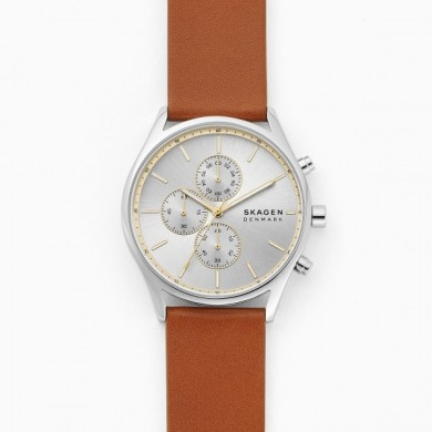 Holst Chronograph Brown Leather