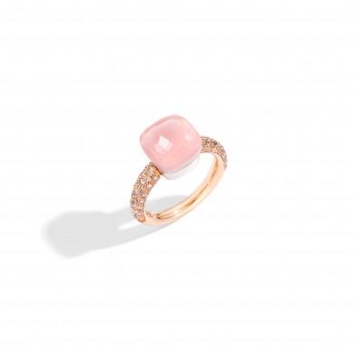 Пръстен - Nudo Rose Quartz Ring