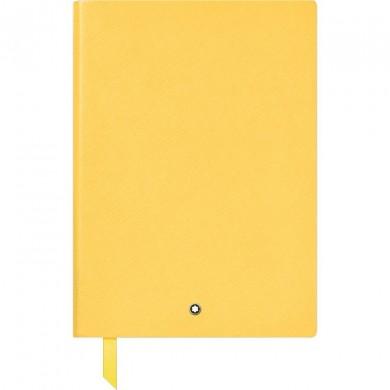 Тефтер - Montblanc Notebook 163 Mustard Yellow