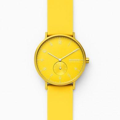 Aaren Kulor Neon Yellow Silicone 41mm