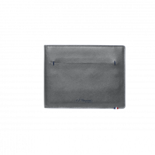 Портфейл LINE D SLIM/BILLFOLD 7 CREDIT CARDS GREY & BLUE