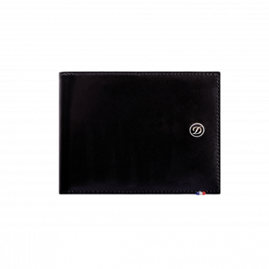 Портфейл LINE D /BILLFOLD 4 CREDIT CARDS & COIN PURSE BLACK